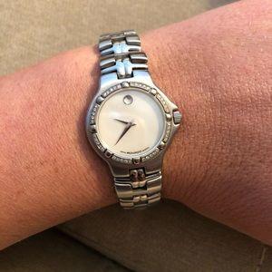 Movado Diamond Ladies Watch!!